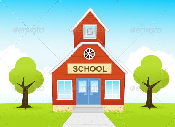 School - Buildings Objects