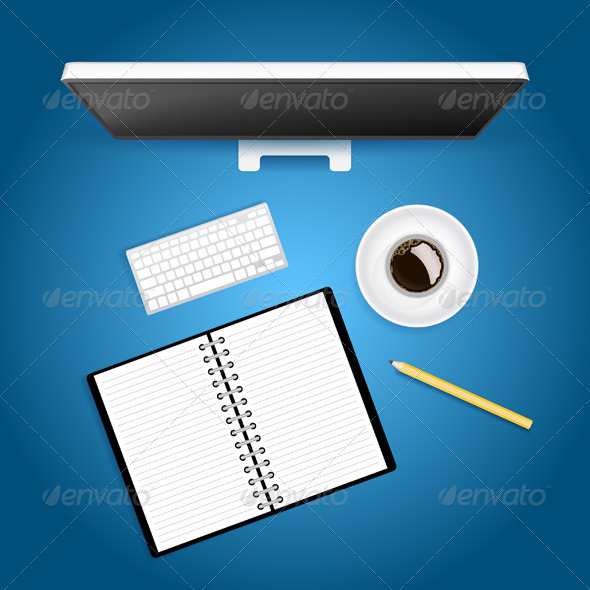 Creative Workspace - Backgrounds Business