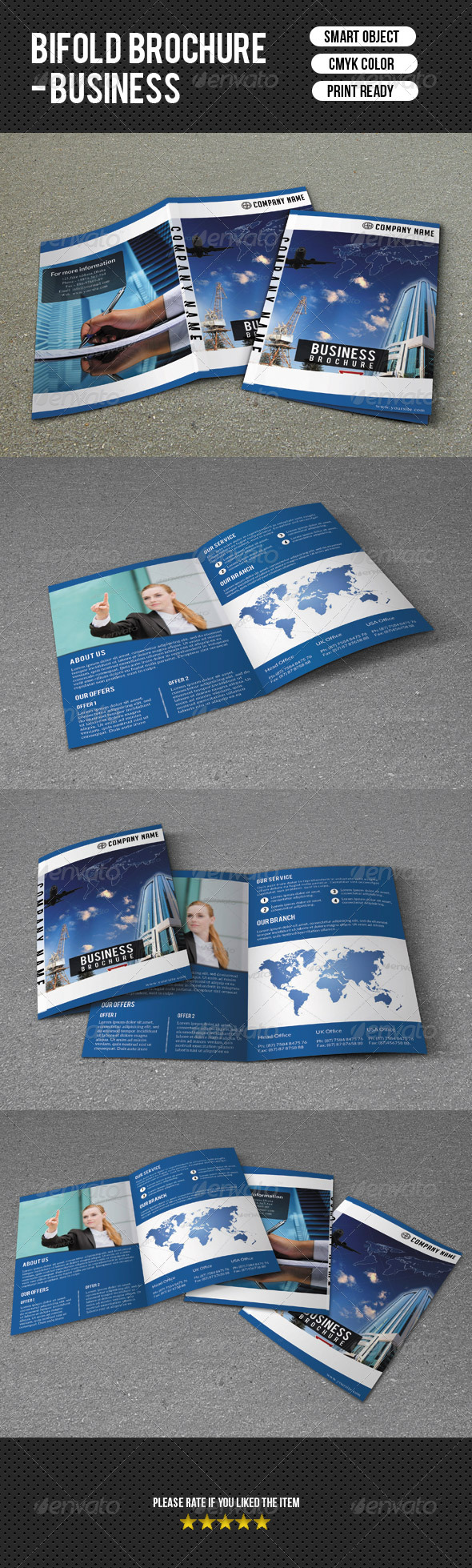 Bifold Business Brochure - Corporate Brochures