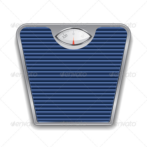 Weight Scale Illustration - Man-made Objects Objects