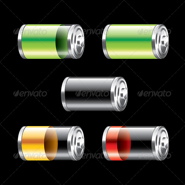Battery Set  - Miscellaneous Conceptual