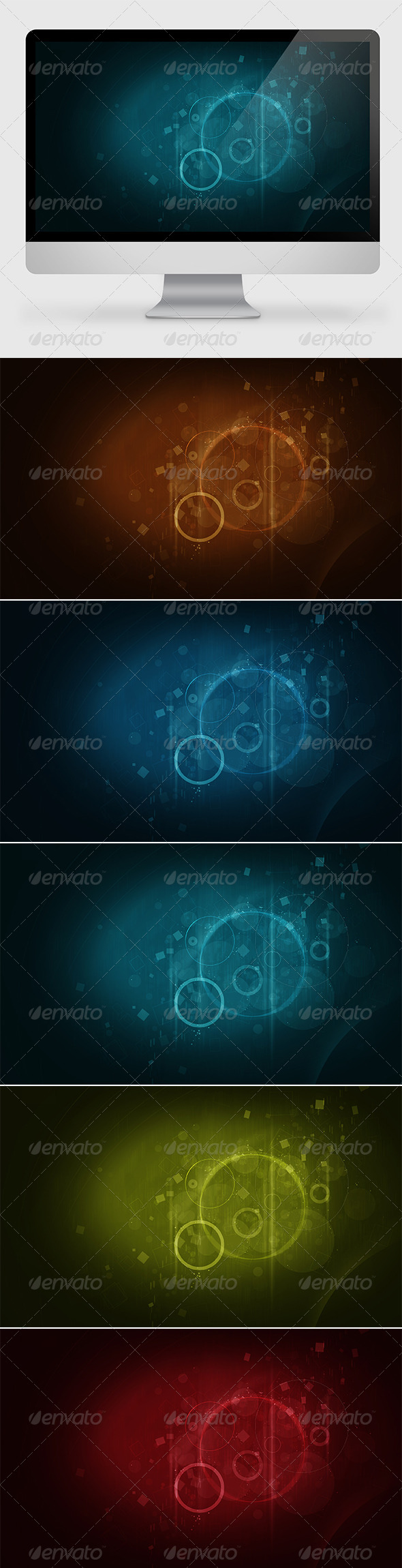 Abstract Geometrical Backgrounds - Abstract Backgrounds