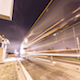 Interstate Truck Stop Night Storm - VideoHive Item for Sale