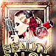 Beauty Salon Flyer PSD - GraphicRiver Item for Sale