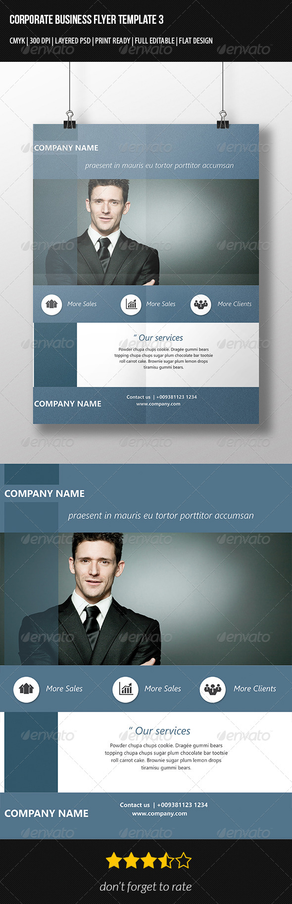 Corporate Flyer Business Template 2 - Corporate Flyers