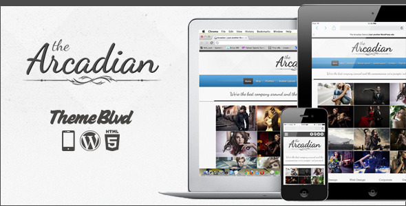 Free Download The Arcadian Responsive WordPress Theme Nulled Latest Version