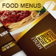 Tri-Fold Food Menu - GraphicRiver Item for Sale