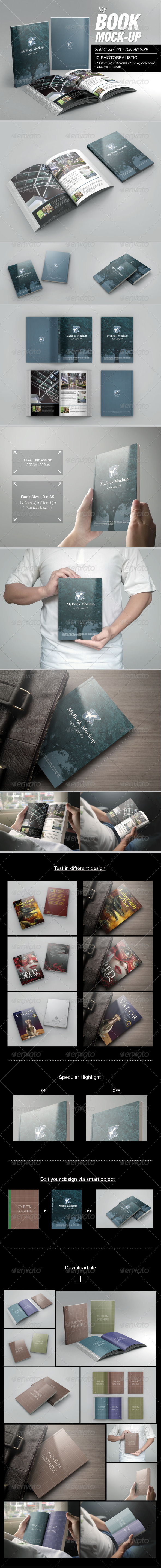 Soft Cover 03 Mock-up - Books Print