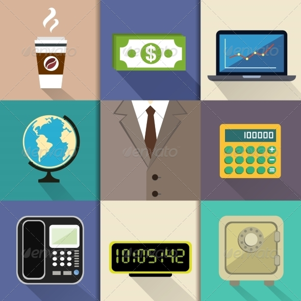 Business Set - Concepts Business