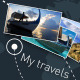 Light Travel Map Slideshow - VideoHive Item for Sale