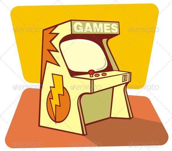 Retro games console - Characters Vectors