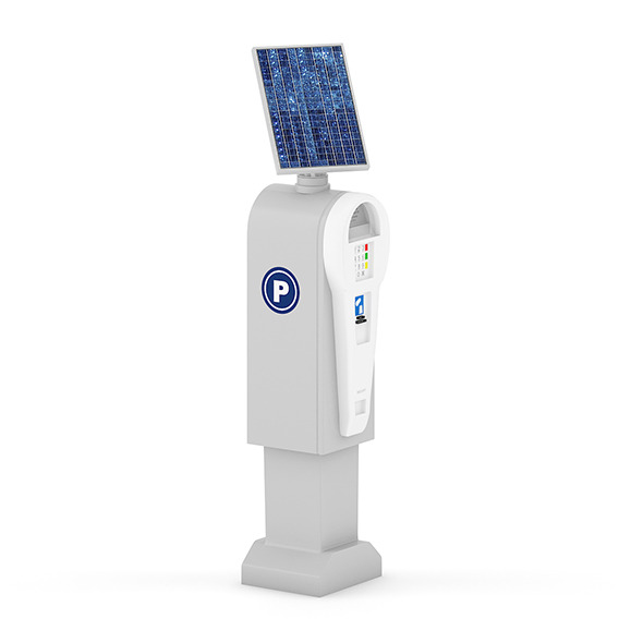 Solar Parking Meter - 3DOcean Item for Sale