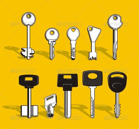 Set of keys - Objects Vectors