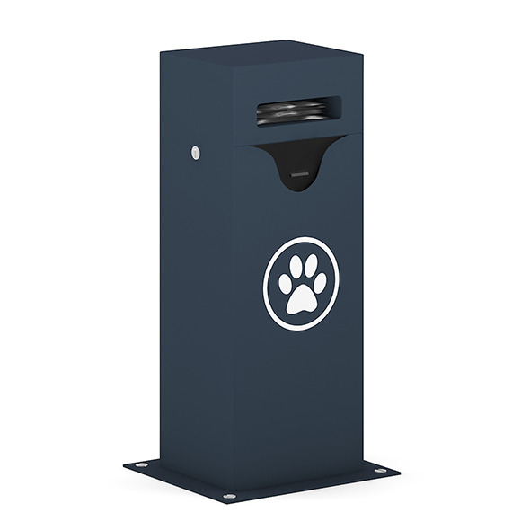 Dog Waste Container - 3DOcean Item for Sale