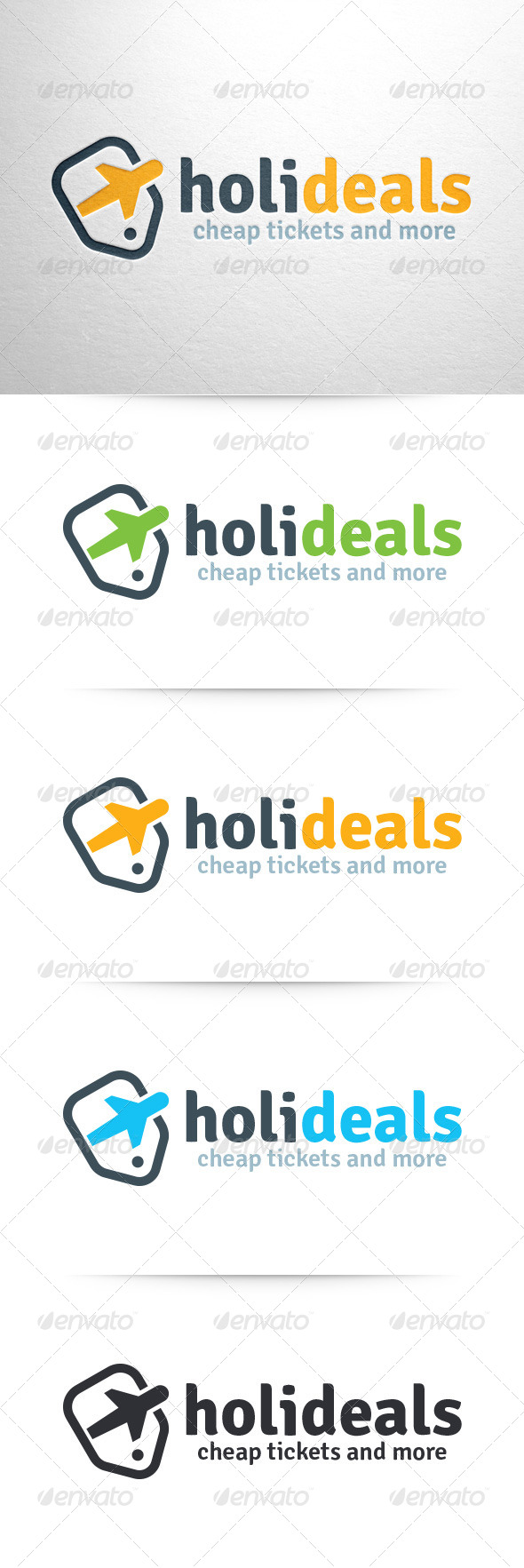 Holiday Deals Logo Template - Objects Logo Templates