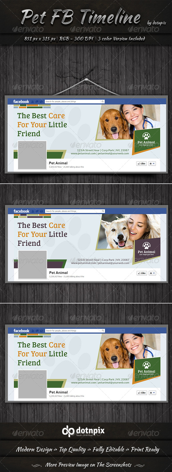 Pet Facebook Timeline Cover - Facebook Timeline Covers Social Media