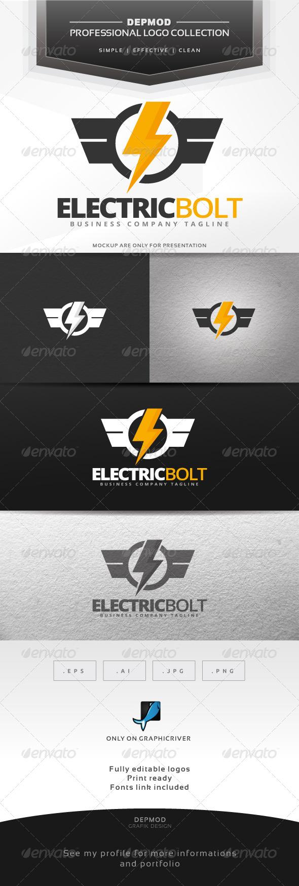 Electric Bolt Logo - Symbols Logo Templates