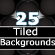 25 Tiled Background Textures - GraphicRiver Item for Sale