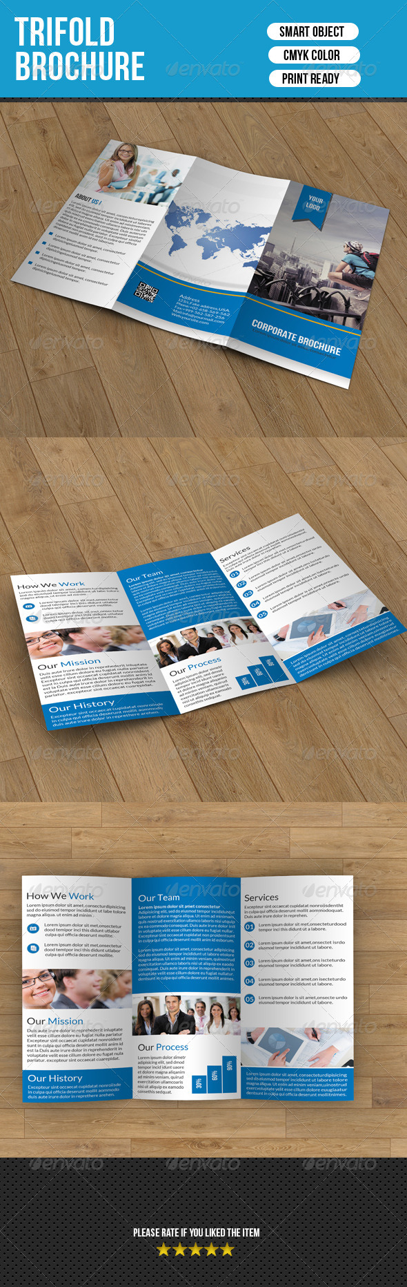 Trifold Brochure- Business - Corporate Brochures