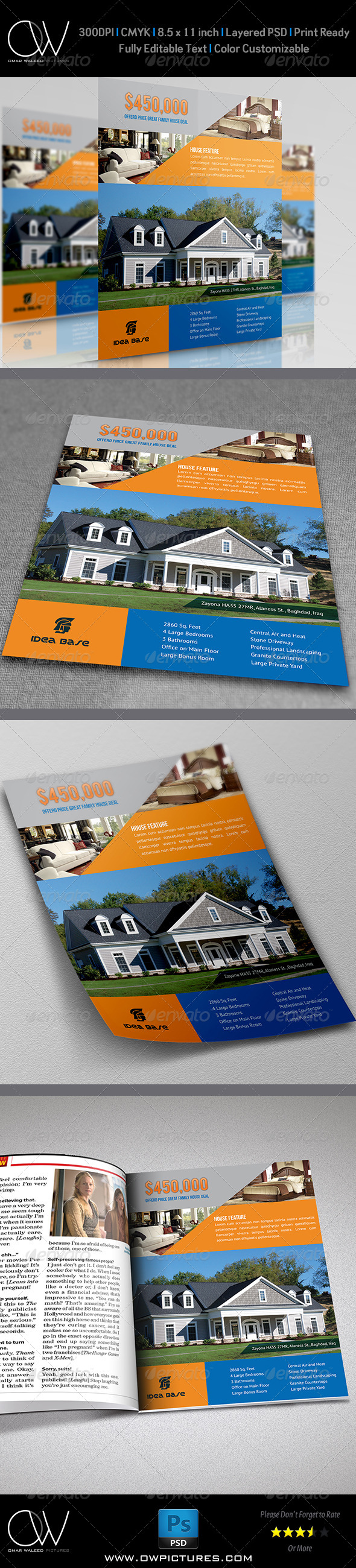 Real Estate Flyer Template Vol.10