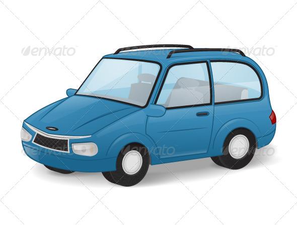Car - Objects Vectors
