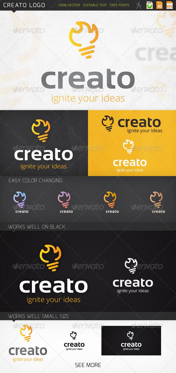 Creato Idea Logo Template - Symbols Logo Templates