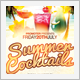 Summer Cocktails Flyer - GraphicRiver Item for Sale