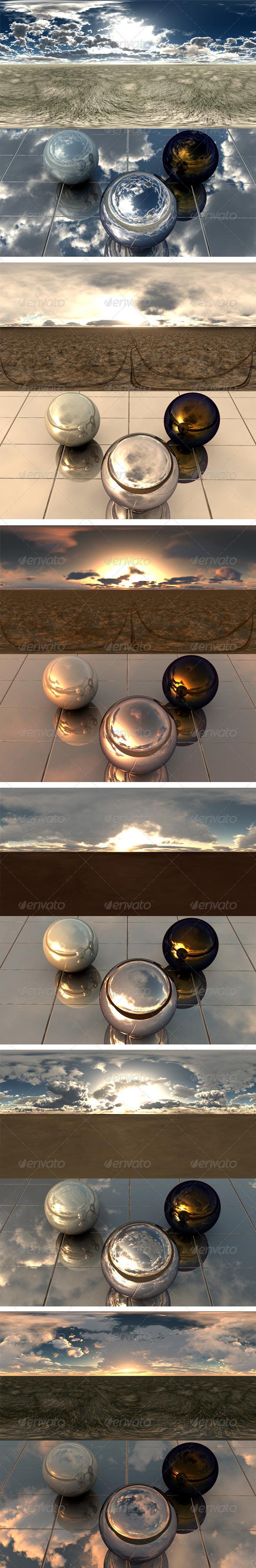 Pack - Desert 9 - 3DOcean Item for Sale