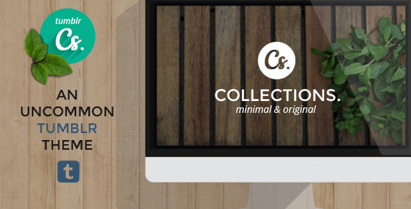 Collections – An Uncommon Tumblr Theme