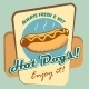 Hot Dog Poster - GraphicRiver Item for Sale