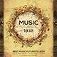 Music Futuristic Flyer Template - GraphicRiver Item for Sale