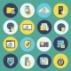 Information Technology Security Icons Set - GraphicRiver Item for Sale