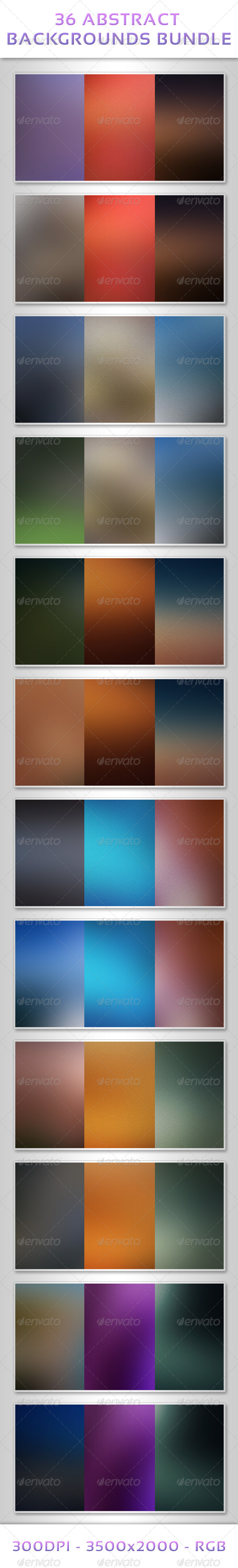 36 Abstract Backgrounds Bundle - Abstract Backgrounds