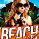 Beach Party Flyer - GraphicRiver Item for Sale