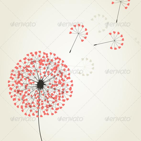 Love dandelion2 - Flowers & Plants Nature