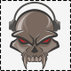 Skull Film & Music Logo Template - GraphicRiver Item for Sale
