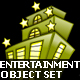 Entertainment Objects Set of 4 - GraphicRiver Item for Sale