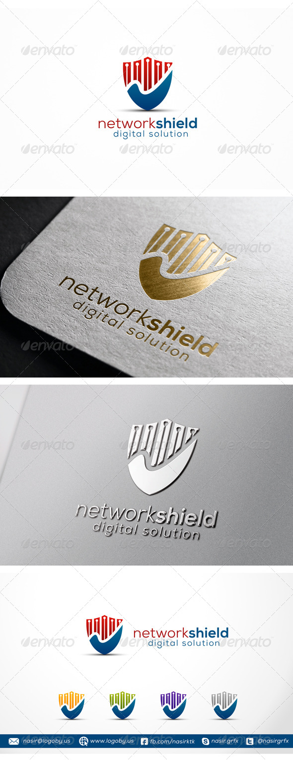 Security Shield Logo - Symbols Logo Templates