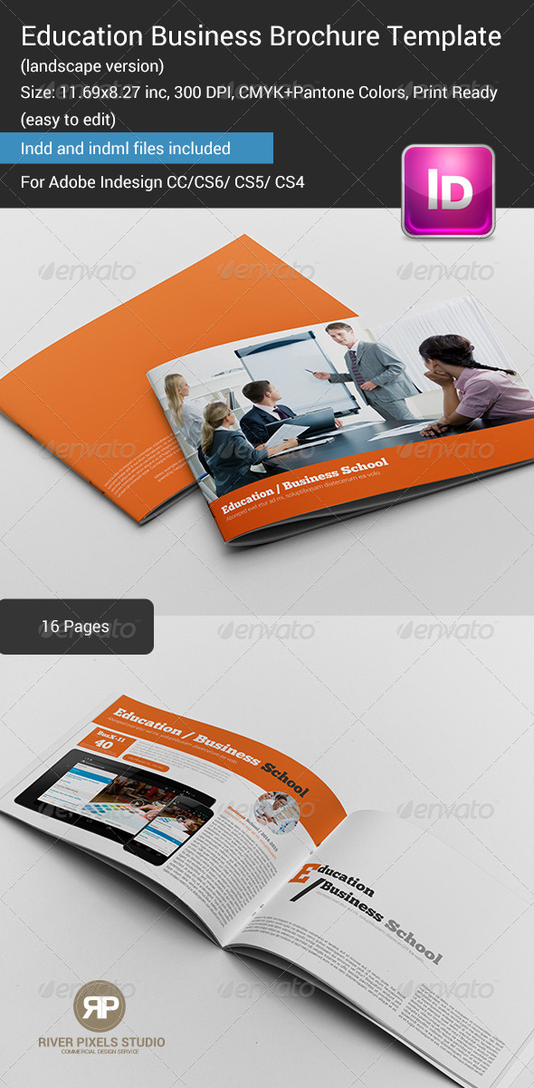 Education Business Brochure Template - Informational Brochures