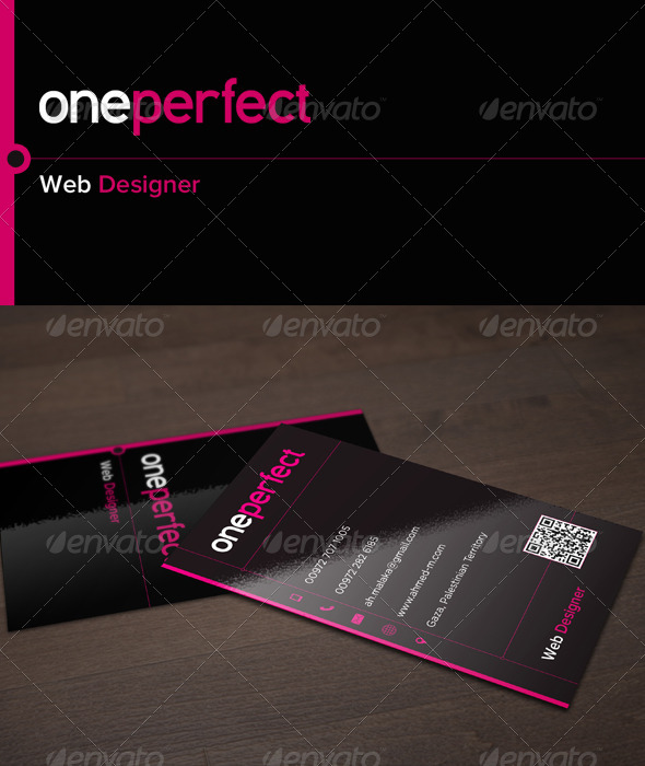 oneperfect - Business Cards Print Templates