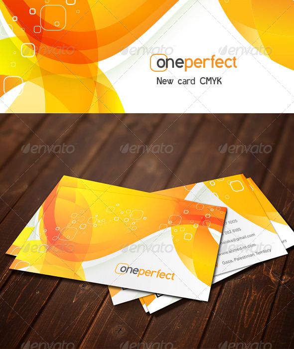oneperfect 1 - Business Cards Print Templates