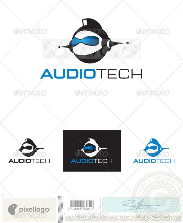 Audio Logo - 2402 - Humans Logo Templates
