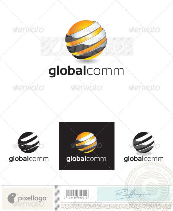 Globe Logo - 2405 - Vector Abstract