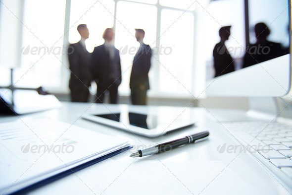 Business workplace - Stock Photo - Images
