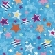 Colorful stars seamless pattern - GraphicRiver Item for Sale