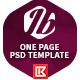 Itobuz One Page PSD Template - ThemeForest Item for Sale