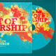 The Art of Worship CD Artwork Template - GraphicRiver Item for Sale