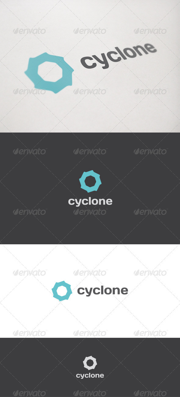 Cyclone - Abstract Logo Templates