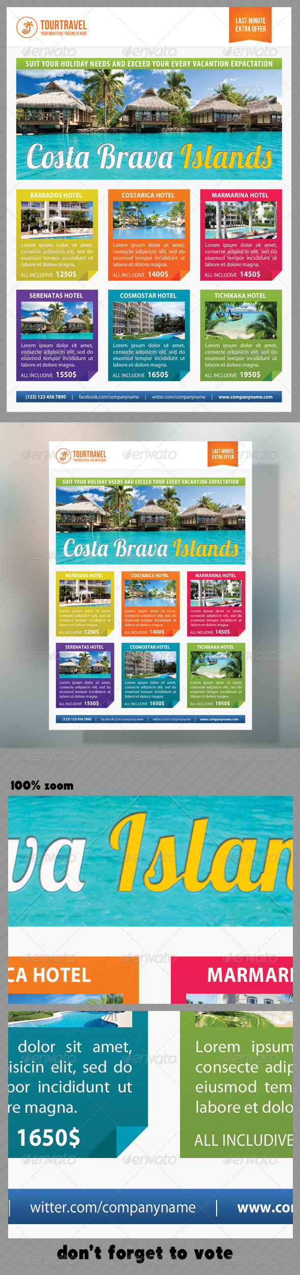 Travel Agency Corporate Flyer 09 - Holidays Events
