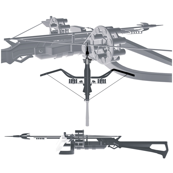 Crossbow (scorpion sting) - 3DOcean Item for Sale